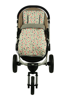 Keep Me Cosy™ 2 in 1 Baby/Infant Footmuff & Pram Liner soft Cotton Universal fit