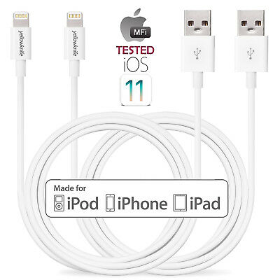 Cable For Iphone X 8/7/6 Plus/ 6s/5 10FT Extra Long Apple Certified USB Charger