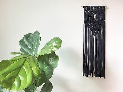 Macrame Wall Hanging With Gold Details