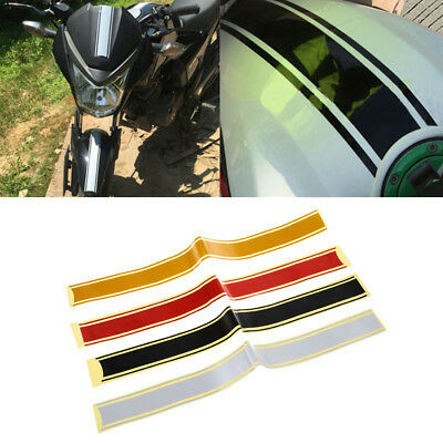 Motorcycle DIY Tank Fairing Cowl Vinyl Stripe Pinstripe Decal Sticker 50x4.5cm