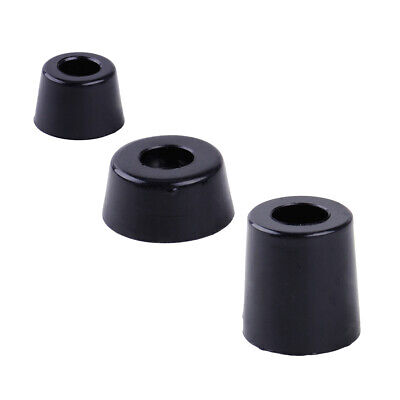 8x Rubber Speaker Cabinet Furniture Table Conical Foot Stand Shock Absorber Pads