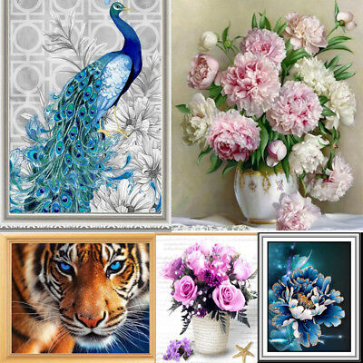 Home Decor 5D Crystal Round Diamond Painting Embroidery Cross Crafts Stitch DIY