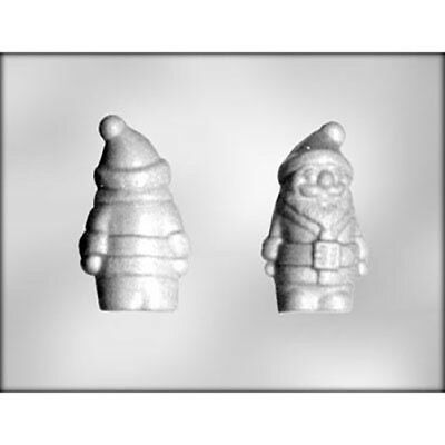 Santa 3D Chocolate Mould or Soap Mould