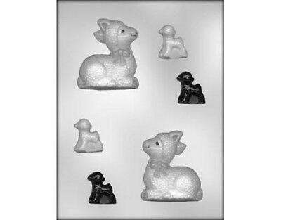 Lamb Cute 3D Chocolate Mould or Soap Mould