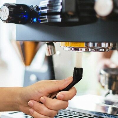 New Simple Barista Black Espresso Coffee Machine Group Head Cleaning Brush