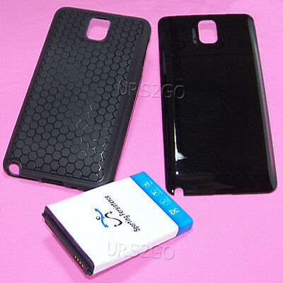 3 Accessory 10300mAh Extended Battery Cover Case for Samsung Galaxy Note 3 N900P