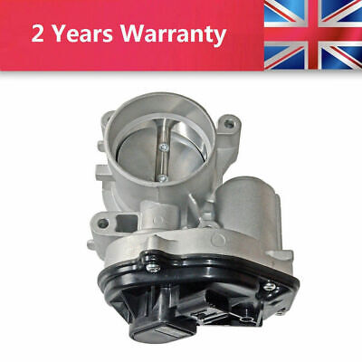 (60mm) Throttle Body For Ford Fiesta MK V ST150 Hatchback 1556736 / 4M5U9E927DC