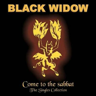 BLACK WIDOW - COME TO THE SABBAT : THE SINGLES COLLECTION 5CDs(NEW SEALED) Metal