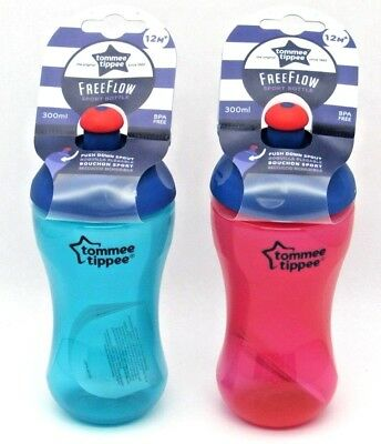 Tommee Tippee pop up essentials sports bottle 300ml 12m+ Unisex bpa free