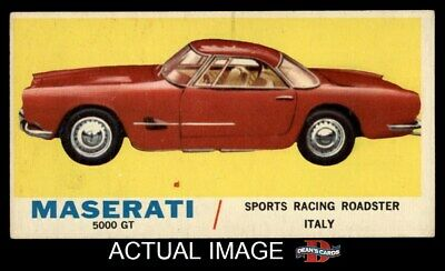 1961 Topps Sports Cars #7 Maserati 5000 GT EX