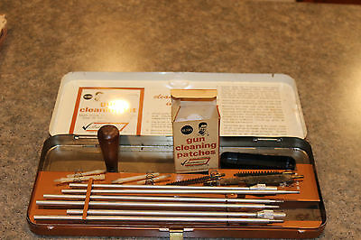 Vintage 1960s Sears Ted Williams Rifle Gun Cleaning Kit