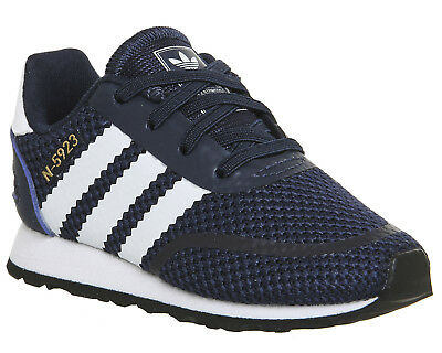 new products 3be97 367e2 Kids Adidas N-5923 Infant Trainers COLLEGIATE NAVY WHITE Kids