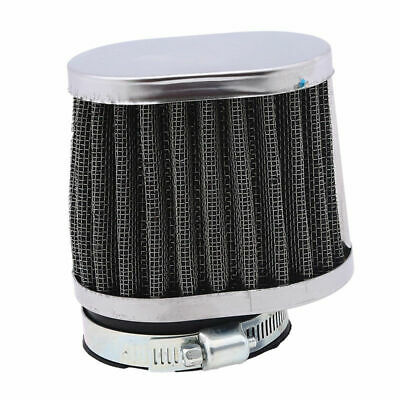 Rubber Cone Cold Air Filter Intake Cleaner Inlet for Motorbikes 50mm