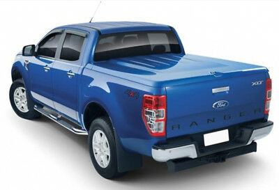 Ford Ranger T6 Double Cab 2012 On Egr 1Pc Lid Tonneau Cover In Primer