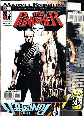 PUNISHER: MARVEL KNIGHTS  ( LOTE  3  NUMEROS ) nºs  3. 11. 37.U.S.A...EN INGLES.