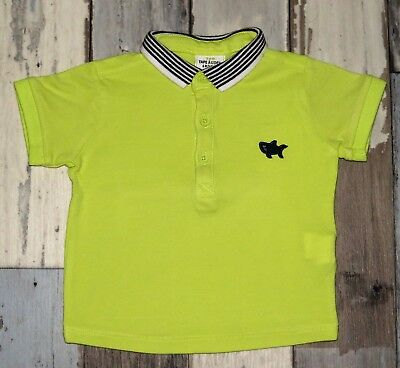 ~ Polo MC jaune brode TAPE A L'OEIL Taille 6 mois ~