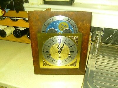 bracket clock unfinished project stamped germany