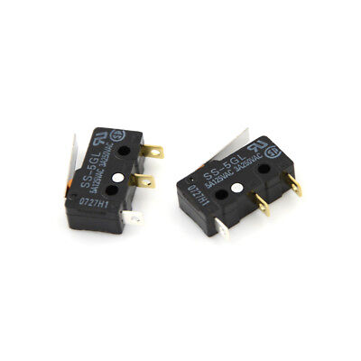 2x SS-5GL Micro Limit Switch Com-NC-NO End Stop Switch For 3D Printer EF