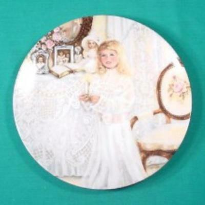 This Little Light of Mine Plate Knowles by Corrine Layton