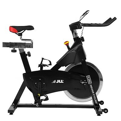 JLL® IC260 Indoor Cycling™ Exercise Bike, 2019 Black Edition, 15kg Flywheel