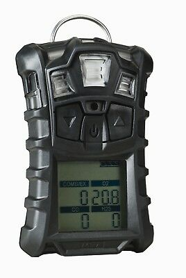 MSA ALTAIR 4, Multigas Gas Detector for LEL, CO, H2S, and O2 with Charger