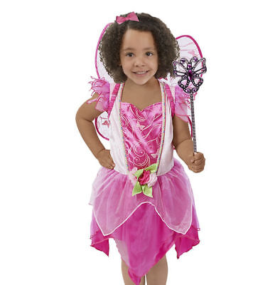 Melissa And Doug Flower Fairy Role Play Costume Set 18539