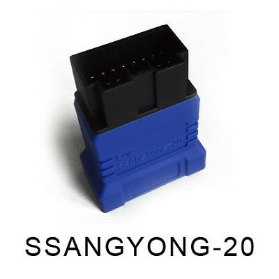 OBDi Ssang Yong 20PIN to OBD2 16PIN Adapter Cable for Carecar AET-I Auto Scanner