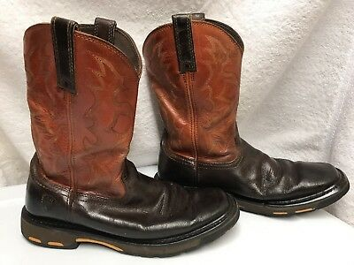 199e6843a55 ARIAT MENS WORKHOG 10005888 Square Soft Toe Western Work Boots SIZE ...