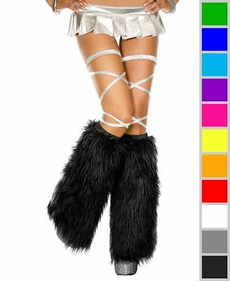 New Music Legs 5535 Furry Leg Warmers