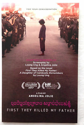 First They Killed My Father Adapted Screenplay For Your Consideration - NEW!