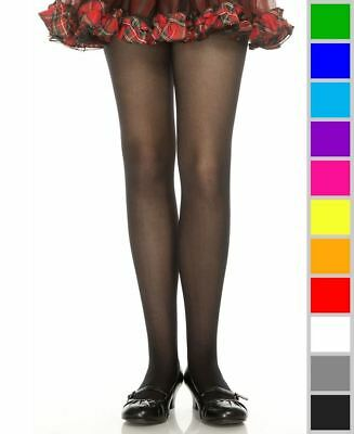 New Music Legs 280 Girls Opaque Tights Pantyhose