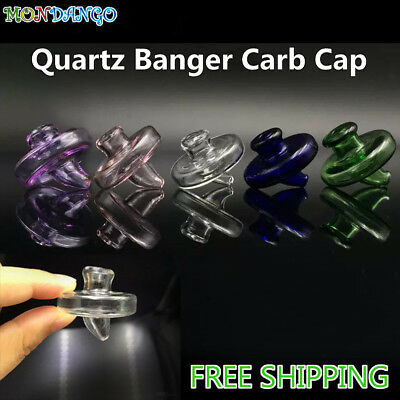UFO Hat Style Carb Cap For Quartz Bangers 35mm OD Universal