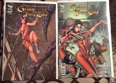 Zenescope Comics - Lot Of 2 - Grimm Fairy Takes - Issue #80 and #81