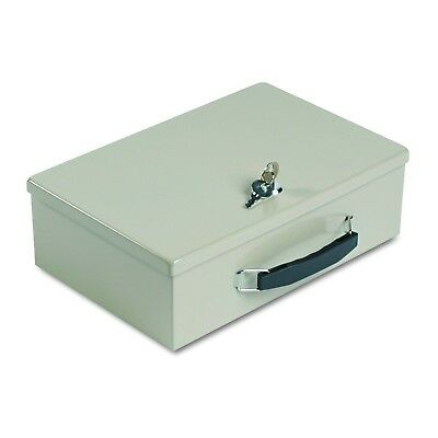 SteelMaster 221614003 Heavy-Duty Steel Fire-Retardant Security Cash Box, Key ...