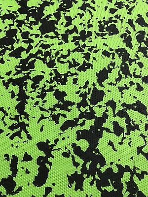 Marine Flooring EVA Foam Sheet 3M Self Adhesive-GREEN- CAMOUFLAGE 6mm
