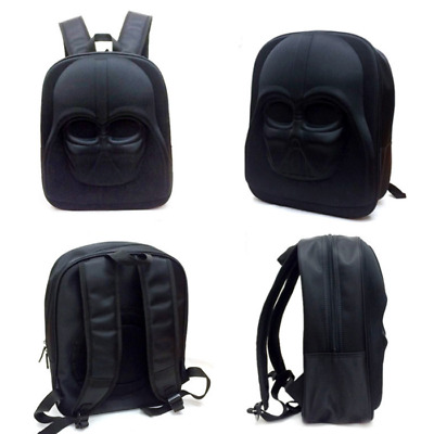 Star Wars The Last Jedi Darth Vader Backpack Collectible Schoolbag Sports Bag