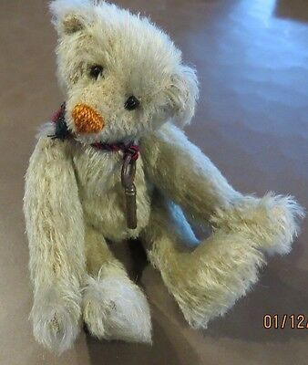 "Bears By Beth Anne Green 6"" Mohair Teddy Bear Brand New!"