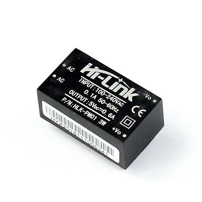 HI-LINK HLK-PM01 AC-DC 220V to 5V Step-Down Power Supply Module Household Switch