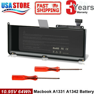 """Laptop Battery for Apple A1331 A1342 Late 2009 Mid 2010 Unibody MacBook 13"""" 15"""""""