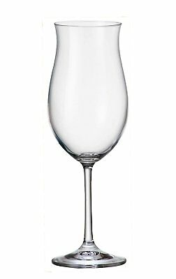 Bohemia Crystal Ellen Large Red Wine Glasses 360 Ml Set Of 6 Goblets Lead Free
