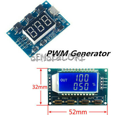 Signal Generator Module Adjustable PWM Pulse Frequency Duty Cycle Square Wave S