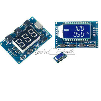 Signal Generator Module Adjustable PWM Pulse Frequency Duty Cycle Square Wave MT