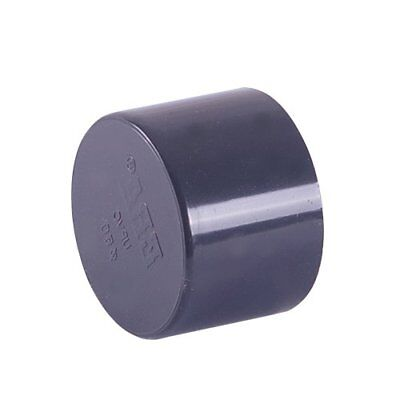Plain End Cap PVC Solvent Weld Pressure Pipe Fitting Metric Sizes: 16mm -200mm