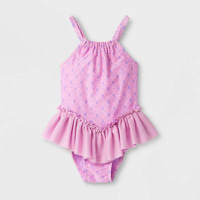 Toddler Girls' Ruffle One Piece Swimsuit - Cat & Jack™ Pink