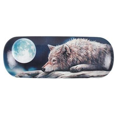 Lisa Parker Hard Glasses Case Wolf Fantasy Amazing Fun Love Heart Magic