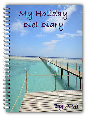 A5 Personalised Diet Diary Slimming And Weight Loss/3 Months Food Tracking/grape