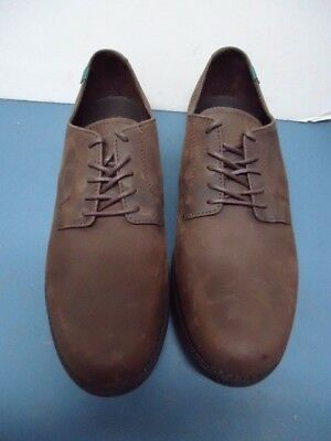 76b6d7f06a6f School Issue Semester Brown Chocolate Leather Oxford Shoes Size 11M Mens  6200BRM