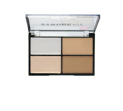 Technic Strobe Kit 2 Cream and 2 Powder Highlighter Palette New Design