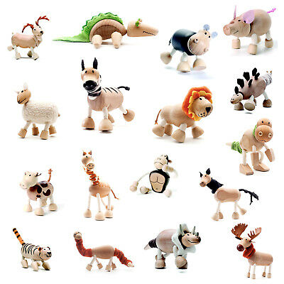 Animal Wood Wooden Toys ANAMALZ Australia Designed Kids Children's - CHOOSE