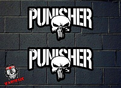 Pegatina Sticker Autocollant Adesivi Aufkleber Decal Adesivo The Punisher